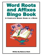 Word Roots and Affixes Bingo Book