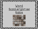 Building Words Game