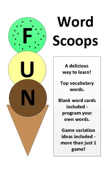 Word Scoops Sight Words Game