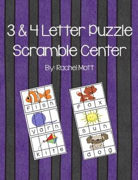 Word Scramble Puzzle Literacy Center