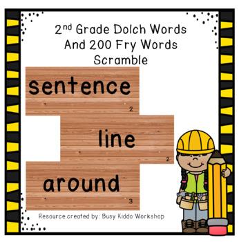 Word Scramble Set 3