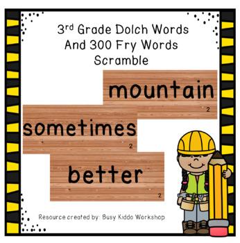 Word Scramble Set 4