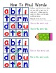 Word Scrambler Word Work Packet