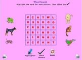 Word Search 1 for New Readers A Pinkley Product