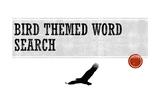 Bird Themed Word Search