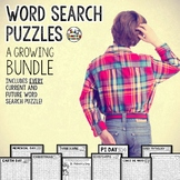 Word Search Activities and Word Searches for Early Finishers