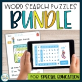 Autism Reading Games: Adapted Word Search Puzzles