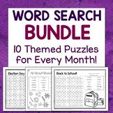 Word Search BUNDLE!