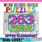 Word Searches: Vocabulary: math, language arts, social stu