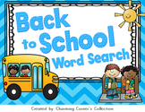 Word Search ~ Back to School Theme