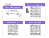 Word Search (Boggle) Warm Ups