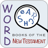 Word Search: Books of the New Testament