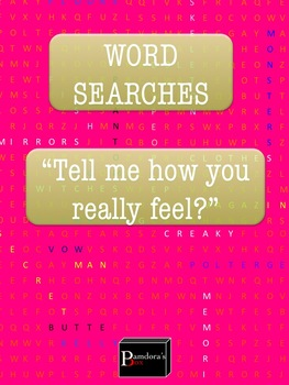 Word Search Bundle: Feelings