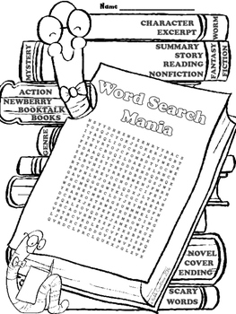 Word Search Bundle for Summer Fun or End of the Year!