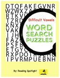 Irregular Vowels Word Search Puzzles (Distance Learning)