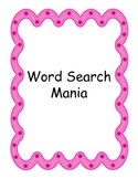 Word Search Education Pack