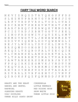 Word Search - Fairy Tale