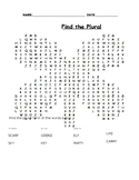 Word Search - Find the Plural