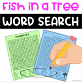 Fish in a Tree Novel Study Word Search