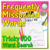 Word Search Frequently Misspelled Words Worksheet