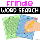 Frindle Word Search Activity