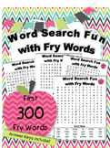 Word Search Fun with Fry Words Game