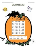 Word Search - Halloween 1st Grade #02