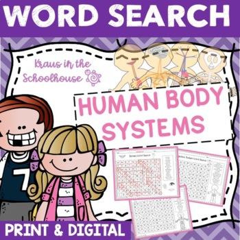 Word Search - Human Body