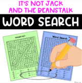 IT'S NOT Jack & the Beanstalk Word Search FREE