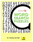 -le At the End of a Word: Word Search Puzzles (Distance Learning)