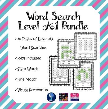 Word Search Level A1 Bundle