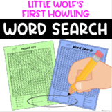 Little Wolf's First Howling Word Search FREE