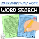 Louisiana's Way Home Word Search