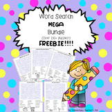 Word Search MEGA Bundle FREEBIE!