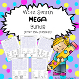 Word Search MEGA Bundle- Over 150 Puzzles!!