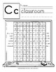 Word Search: Manuscript Handwriting Style