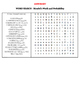 Word Search - Mendel' Work and Probability