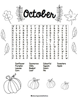 Word Search Monthly Bundle
