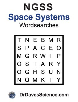 Word Search NGSS