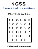 Word Search NGSS Forces