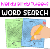 Nerdy Birdy Tweets Word Search