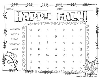 Word Search Pack - Holiday Theme