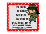 Word Search Packet for Short o CVC Words - Set 4