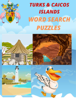 Turks and Caicos Word Search Puzzle: Providenciales Chalk Sound National Park