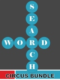 Word Search Puzzle Circus Bundle (Easy)