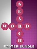 Word Search Puzzle Easter Bundle