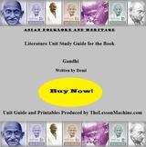 Literature Unit for Gandhi, by Demi