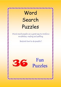 Word Search Puzzles 1