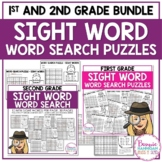 Word Search Puzzles - 1st & 2nd Grades