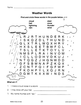 Word Search Puzzles: Riddles & Critical Thinking